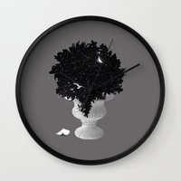 Marvels Of The Night Wall Clock