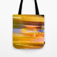 Night Light 131 - Roller Coaster Tote Bag