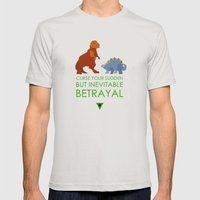 firefly betrayal Mens Fitted Tee Silver SMALL