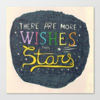 There Are More Wishes Th… Canvas Print