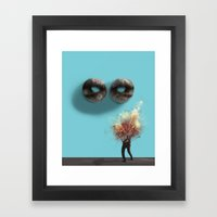 Stendhal Syndrome Framed Art Print