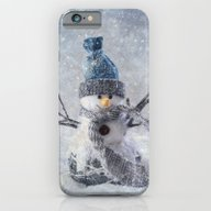 Cute Snowman Frozen Free… iPhone 6 Slim Case