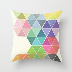 Fragmented Throw Pillow
