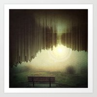 A Moment Of Consciousnes… Art Print