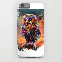 iPhone & iPod Case featuring brave little owl by ururuty