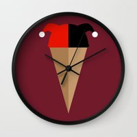 Heavenly Harley Wall Clock