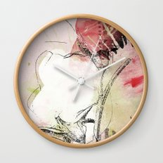 pink splendor Wall Clock