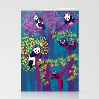 Both Species Of Panda - … Stationery Cards