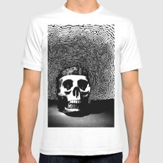 caveira Mens Fitted Tee SMALL White