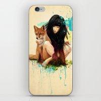 Fox Love iPhone & iPod Skin