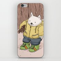 Firewood iPhone & iPod Skin