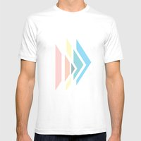 Apex Mens Fitted Tee White SMALL