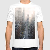 Lower East Side Mens Fitted Tee White SMALL