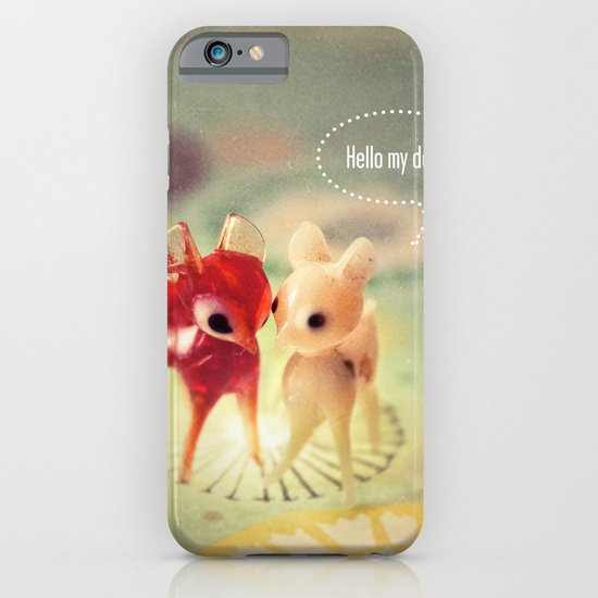 hello my deer iPhone & iPod Case