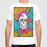 Death Grip #1 Mens Fitted Tee White SMALL
