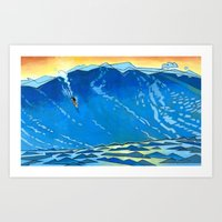 Big Wave Art Print