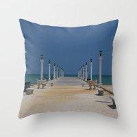 Yucatan Dream Throw Pillow