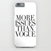 MORE ISSUES 2 iPhone 6 Slim Case