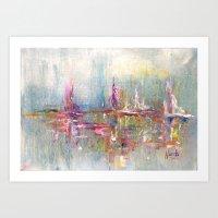 City And Colour Art Print