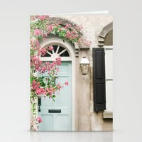 Charleston doorway Stationery Cards