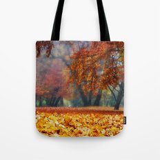 magical autumn pano Tote Bag