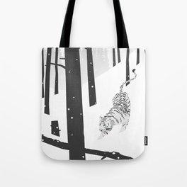 Tote Bag - White tiger - Roland Banrevi
