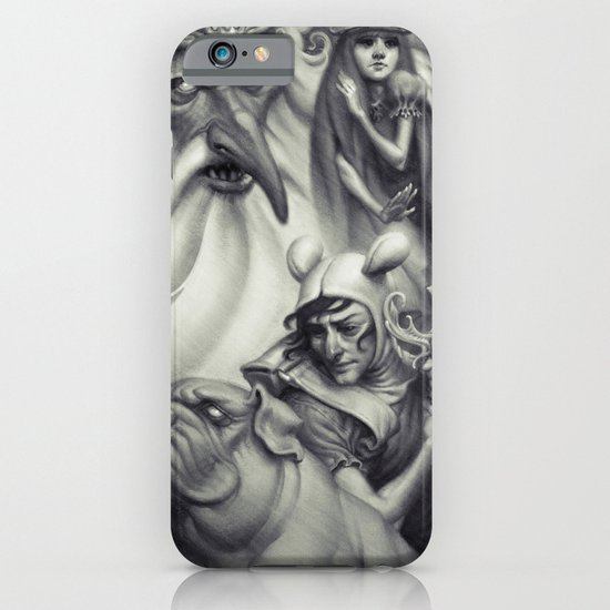 Another Castle :: Duotone Print iPhone & iPod Case
