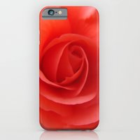 iPhone & iPod Case featuring Rose Delicate by KASSABLANKA