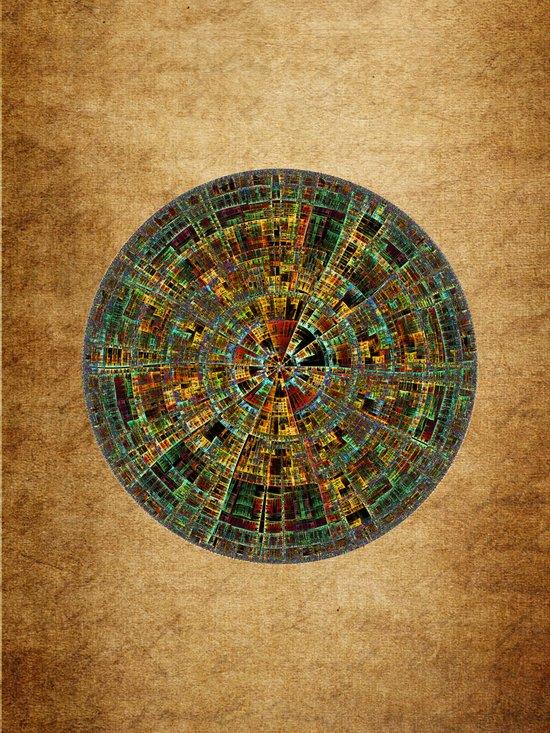Ancient Calendar Art Print