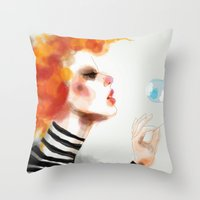 Pin Throw Pillow