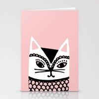 Katze #2 Stationery Cards
