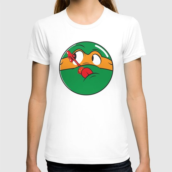 Who Watches the Pizza? T-shirt