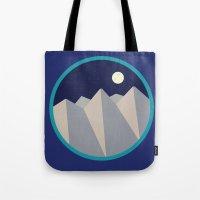 Day Mountain, Night Mountain Tote Bag