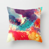 Synthesize Throw Pillow