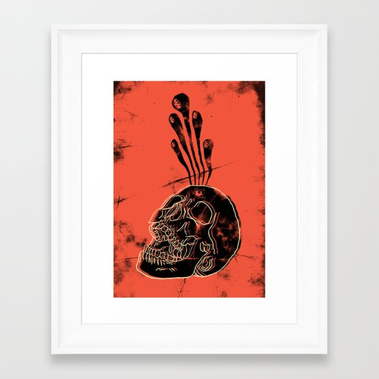 Bath Salts Framed Art Print