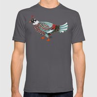 Pheasant Noble 2 Mens Fitted Tee Asphalt SMALL