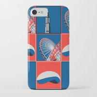 chicago iPhone & iPod Cases featuring Chicago by Arts and Herbs