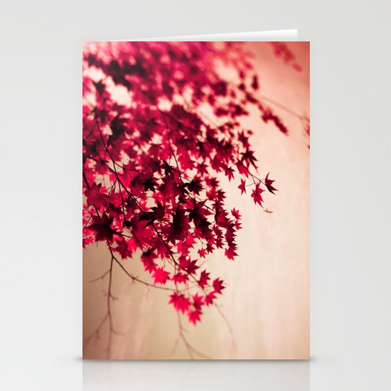 Fall Leaves Stationery Card