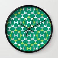 Rocktagon Wall Clock