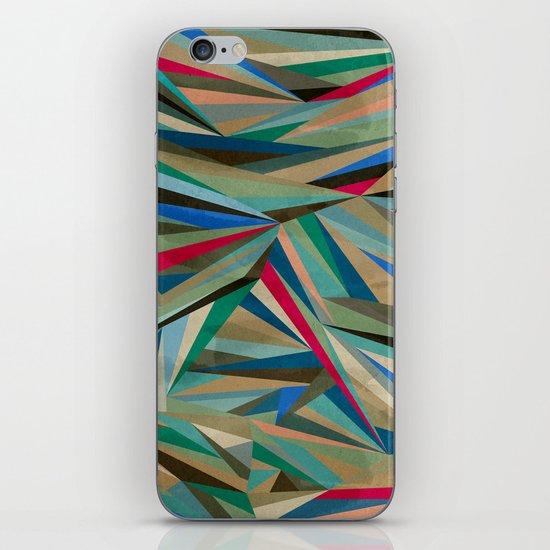 Travel Fragments iPhone & iPod Skin