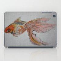 Goldfish Pond (close up #9) iPad Case