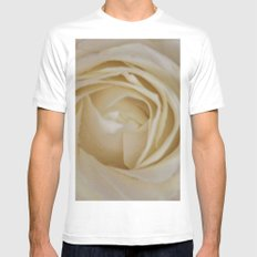 Endless love SMALL White Mens Fitted Tee