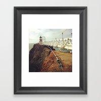 Point Bonita Light House Framed Art Print