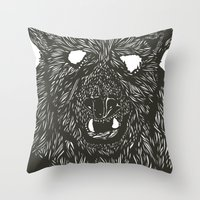 Gnarly Throw Pillow