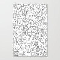 Doodle Do Canvas Print