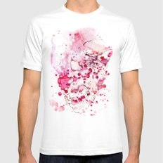 Clown, Mr Eyecandy SMALL White Mens Fitted Tee