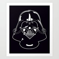 V for Vader Art Print