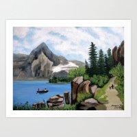 Mountain Landscape 2 Art Print