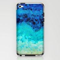 INVITE TO BLUE iPhone & iPod Skin