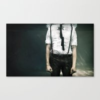 abyss of the disheartened VIII Canvas Print